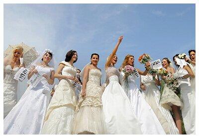 Обзор свадебных салонов Бяла-Подляски: контакты, ассортимент